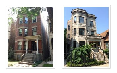 traditional chicago 3 flats